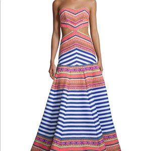 Alexis Zuzu embroidered Aztec maxi dress